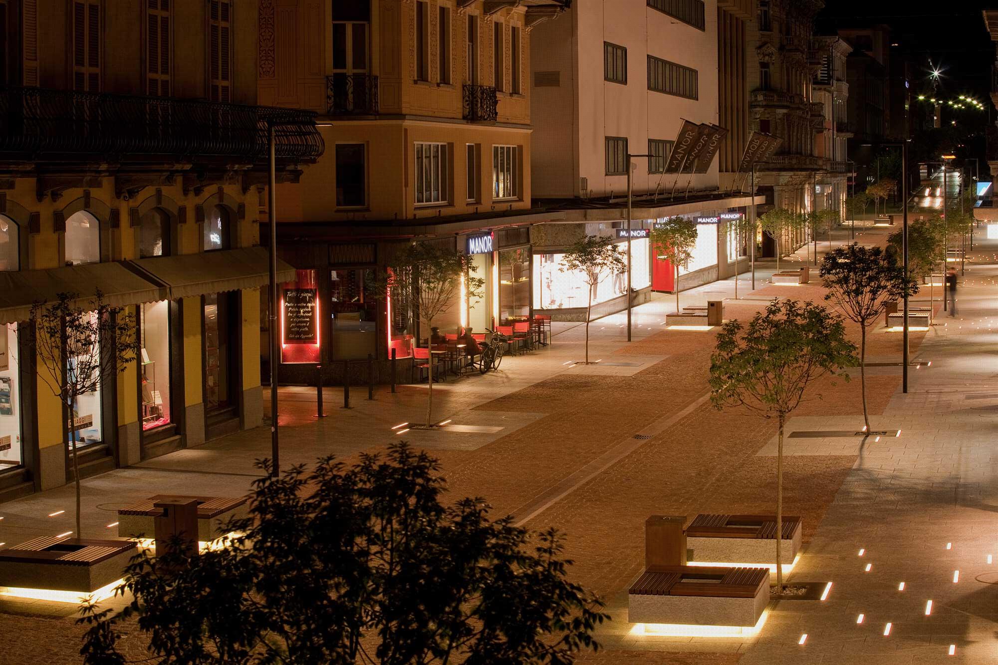 VIALE STAZIONE - Bellinzona  - Svizzera