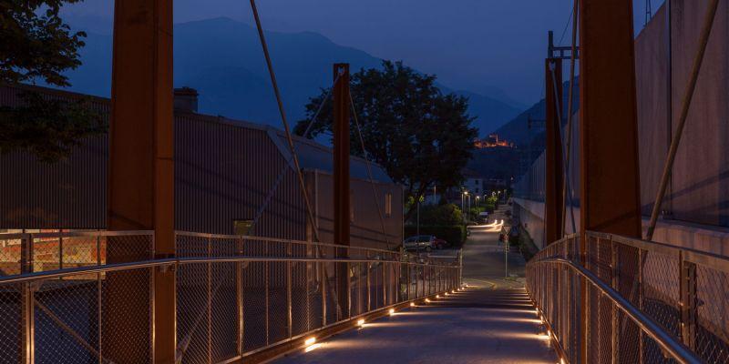 AI SALEGGI PEDESTRIAN/CYCLE BRIDGE